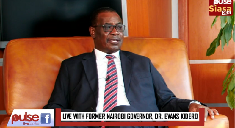 Former Nairobi Governor Dr. Evans Kidero