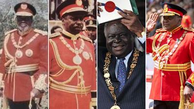 What was the name of President Jomo Kenyatta's father? Take this Quiz