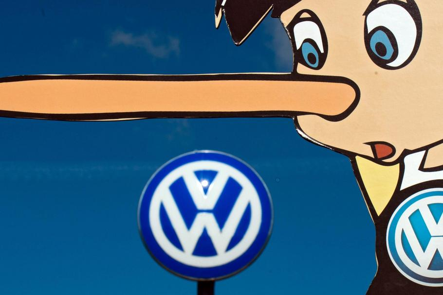 GERMANY PROTEST VOLKSWAGEN