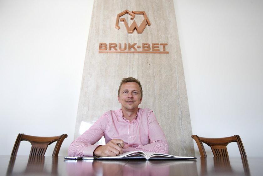 Dyrektor sportowy Termaliki Nieciecza Marcin Baszczyński