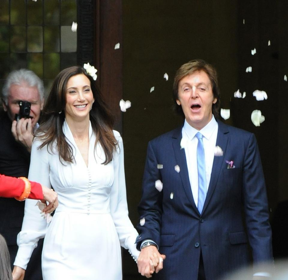 Paul McCartney i Nancy Shevell