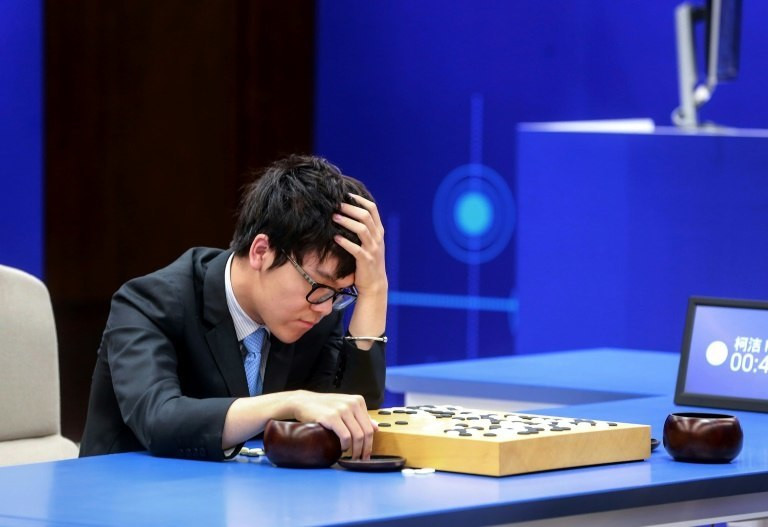 AlphaGo defeated brash 19-year-old world number one Ke Jie of China on Saturday to sweep a three-game series that was closely watched as a measure of how far artificial intelligence (AI) has come
