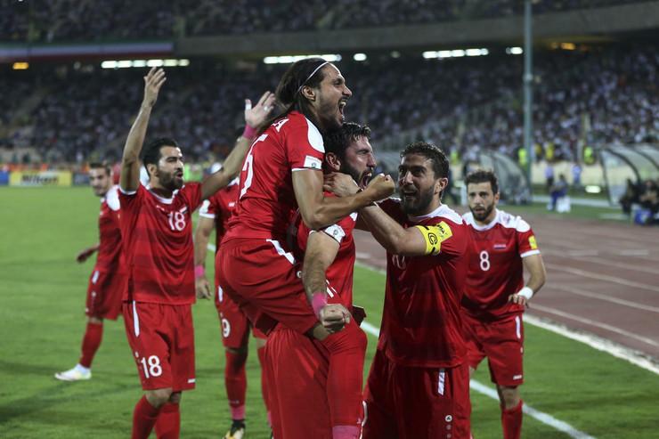 Fudbalska reprezentacija Sirije