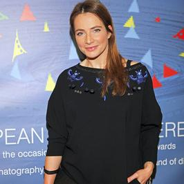 Anna Dereszowska na czarno na konferencji filmowej. Jak wyglądała?