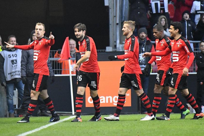 Kamil Grosicki strzelił cudownego gola dla Stade Rennes