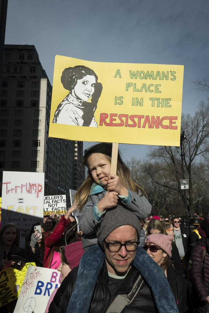 News- Women's March in New York City