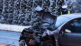 W wypadku pod Lesznem zginęło 11-miesięczne dziecko. Jego brat walczy o życie