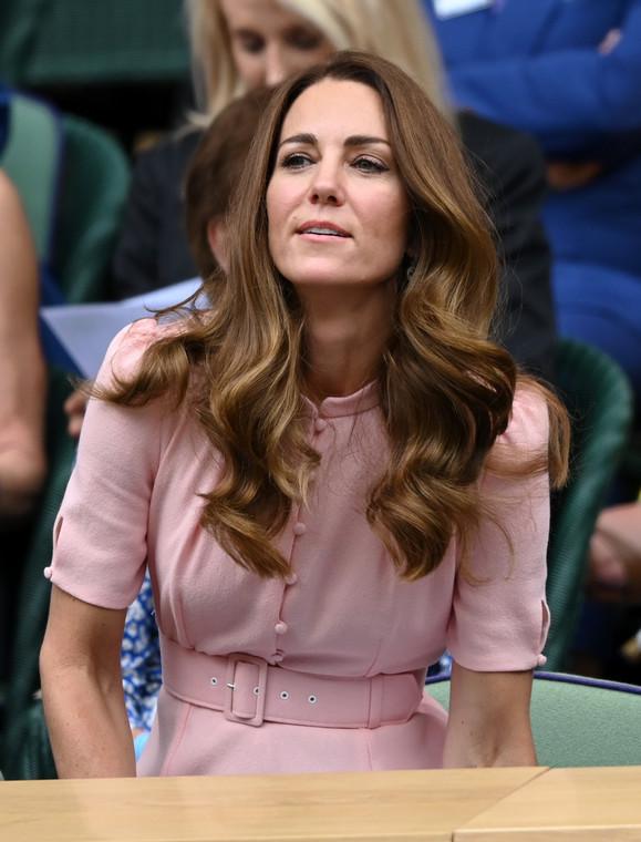 Duchess Kate watches the single finale at Wimbledon