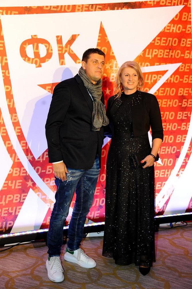 Vladan Milojević sa suprugom