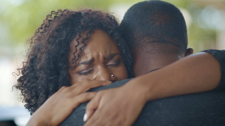 Ruth Nkweti and Preach Bassey play lovebirds in the upcoming short film [YouTube]
