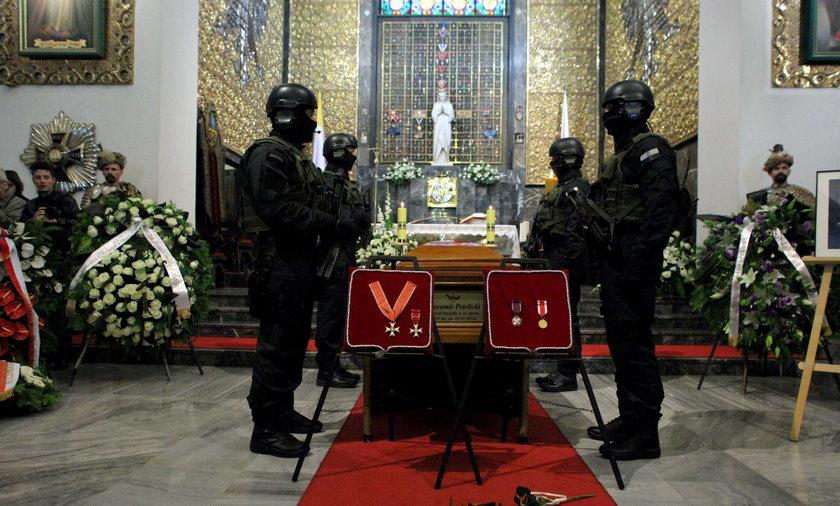 Pogrzeb generała Sławomira Petelickiego.