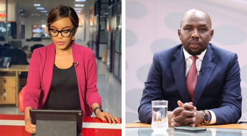 KTN's Sophia Wanuna tackles Murkomen after tweet on Miguna