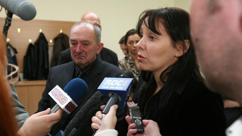 Sprawa Olewnika. Siostra zamordowanego kontra policjanci