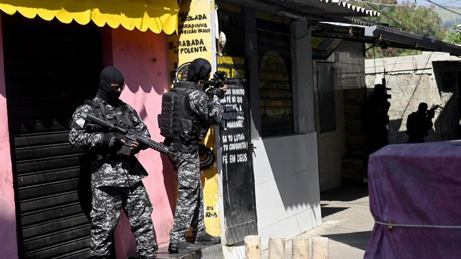 Akcja policji w Jacarezinho