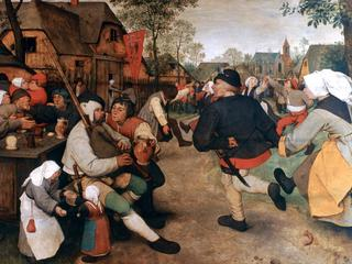 'The Peasant Dance', 1568-1569. Artist: Pieter Bruegel the Elder
