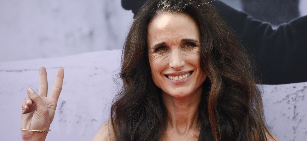Andie Mc Dowell fot. Chris Pizzello/Invision/AP/East News