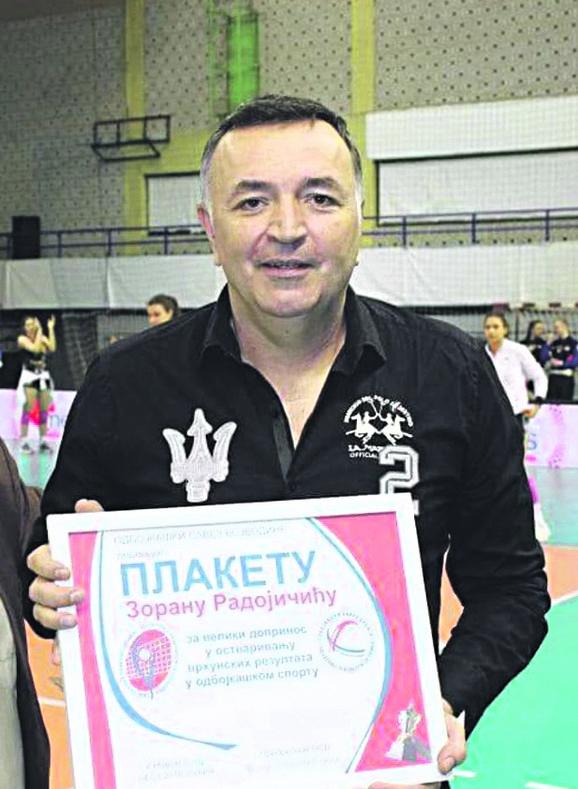 Predsednik Vizure Zoran Radojičić
