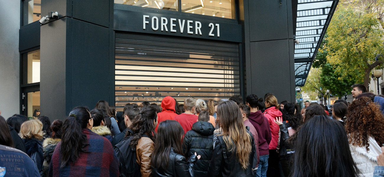 Forever 21 fot. SOPA Images / Contributor/ GettyImages