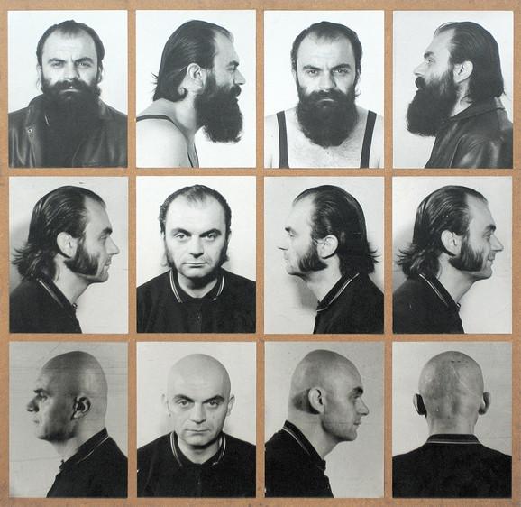 Tomislav Gotovac, Glave, 1970. godina, kolekcija MSUB