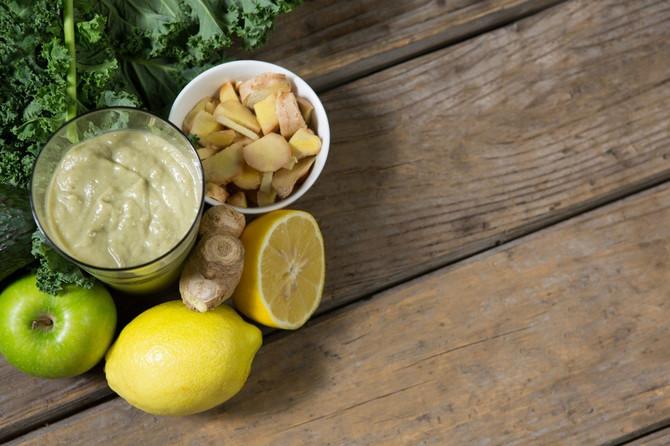 Eliksir od limuna, đumbira i jabuke za jačanje imuniteta