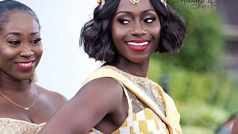 Beautiful Ghanaian bride