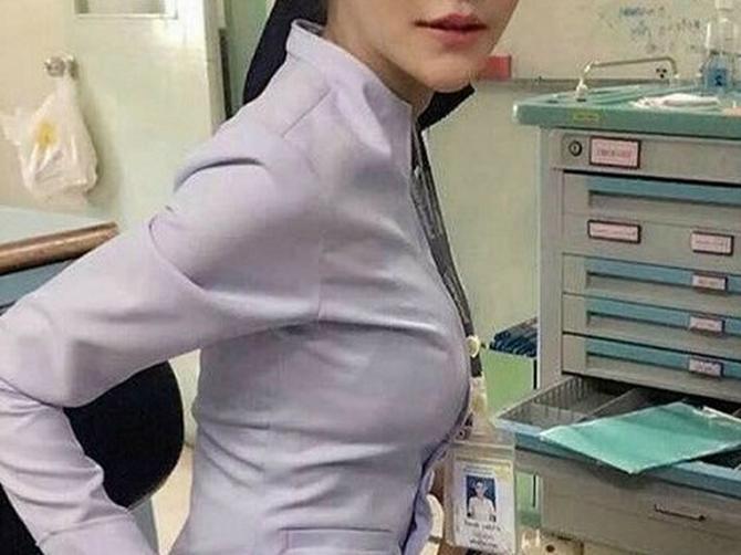 Kažu da je ovom fotografijom UKALJALA UGLED bolnice: Medicinsku sestru razapeli na mrežama, pa morala da da OTKAZ