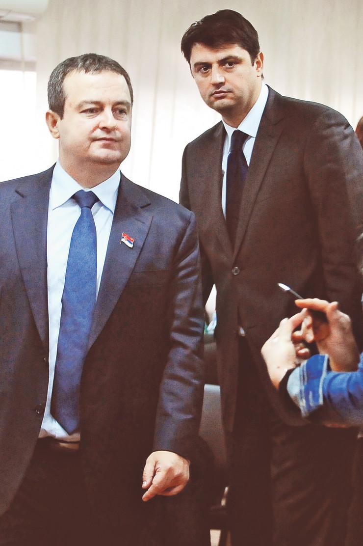 Vladimir Božović i Ivica Dačić