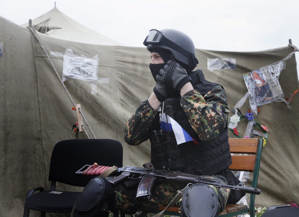 We wschodniej części Ukrainy walki nie ustają EPA/MAXIM SHIPENKOV