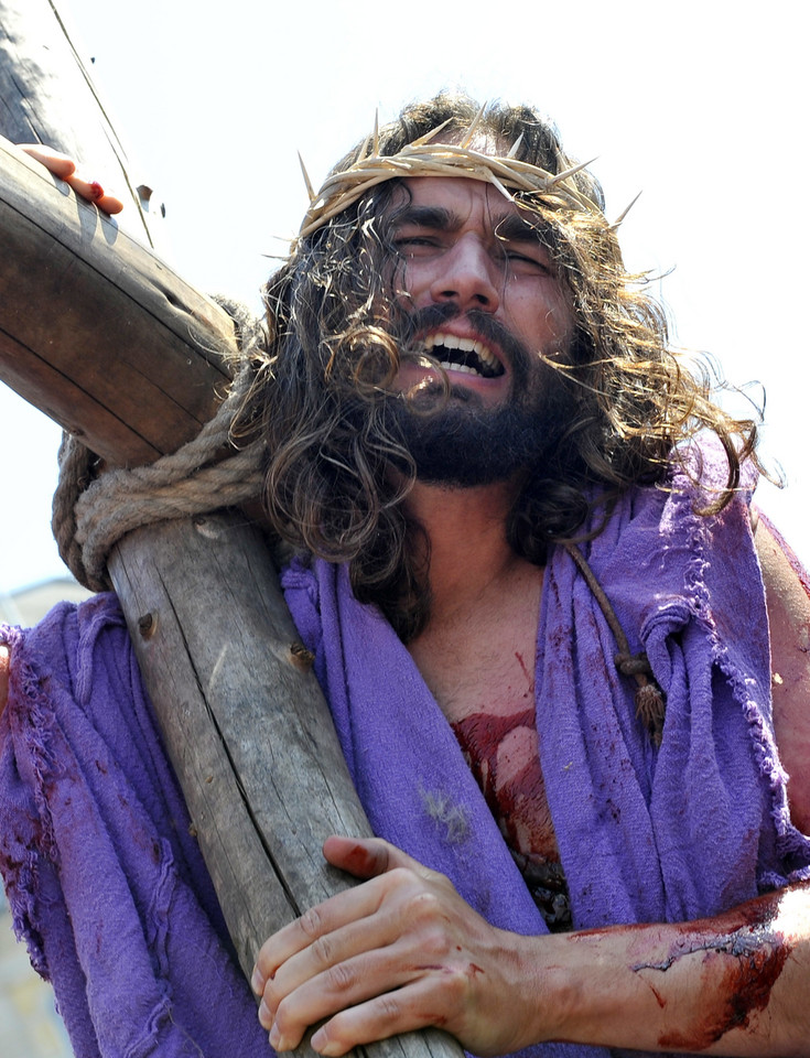 BRITAIN GOOD FRIDAY PASSION OF CHRIST