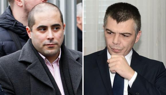 Miša Vacić i Aleksandar Jablanović