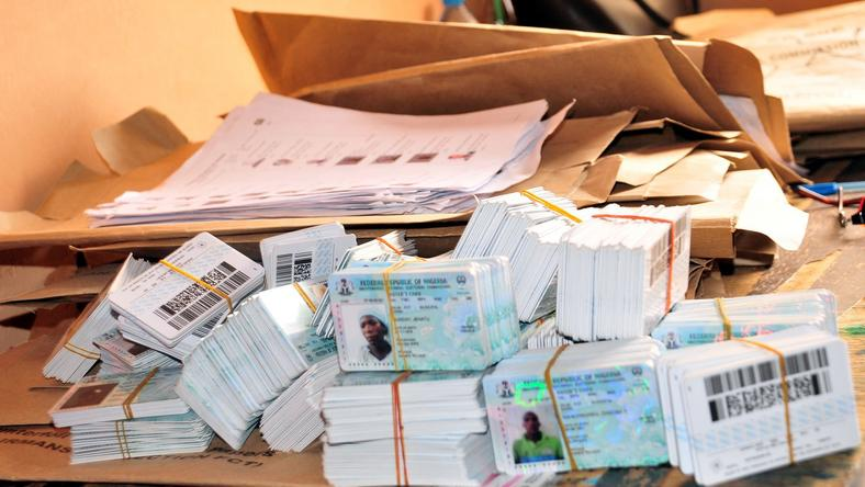 Image result for 400,000 PVCs uncollected in Rivers- INEC