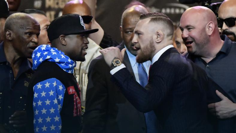 Conor McGregor i Floyd Mayweather jr
