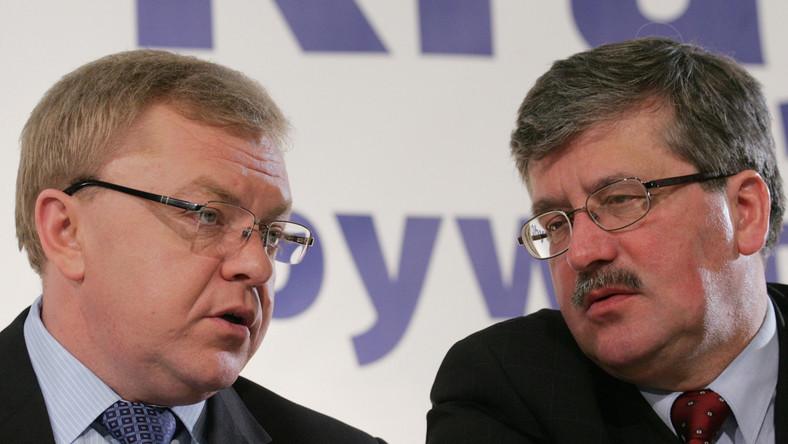 Konflikt między Chlebowskim a Komorowskim narasta od miesięcy