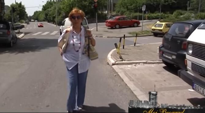 Danka Noovović u šetnji svojim Beogradom