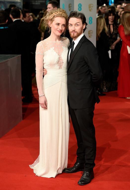 James McAvoy y Anne Marie Duff