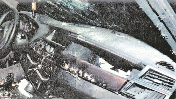 Raznet: Automobil u kojem je žrtva stradala
