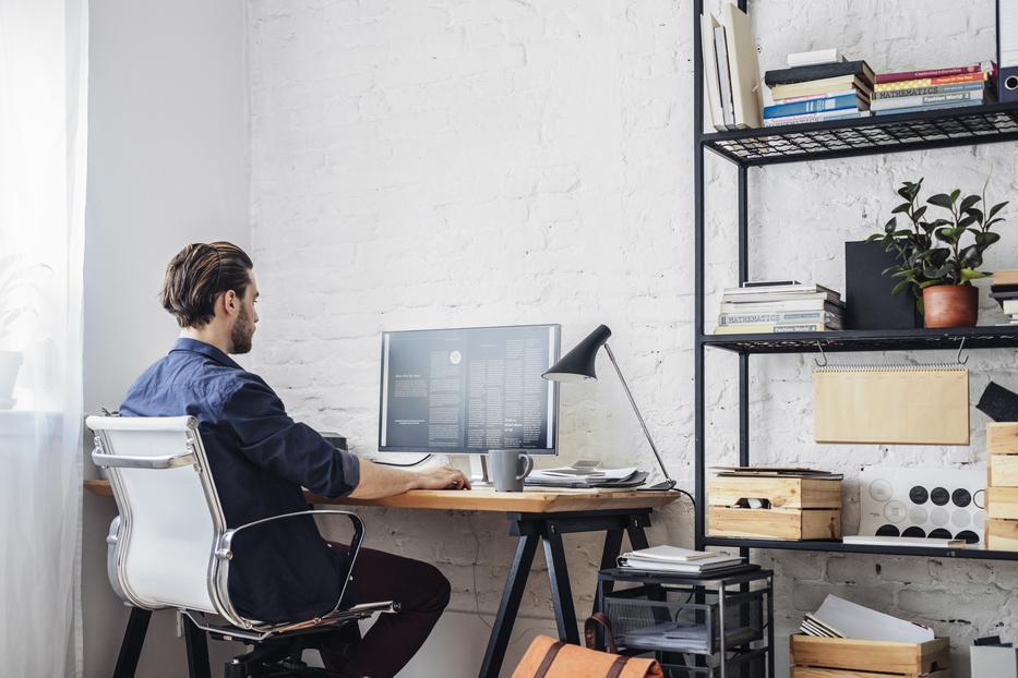 A munkavállalók egy jelentős hányada otthonról fogja elvégezni munkahelyi feladatait /Fotó: Shutterstock
