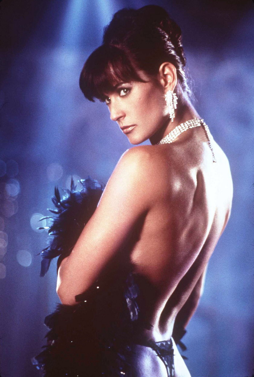 "Demi Moore w filmie ""Striptiz"""