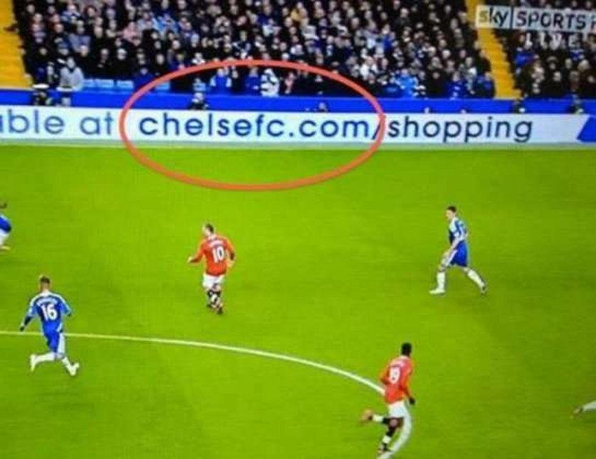 Chelse zamiast Chelsea. Ale wstyd!