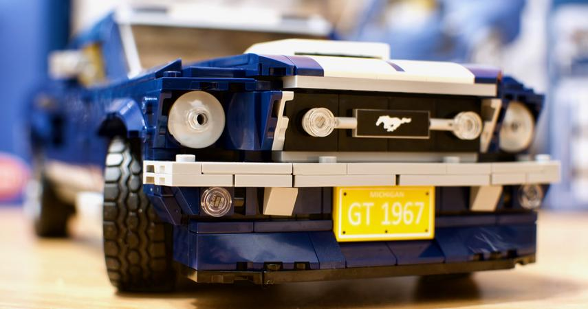 Ford Mustang From The 1960s A Set Of Lego Creator Expert Blocks
