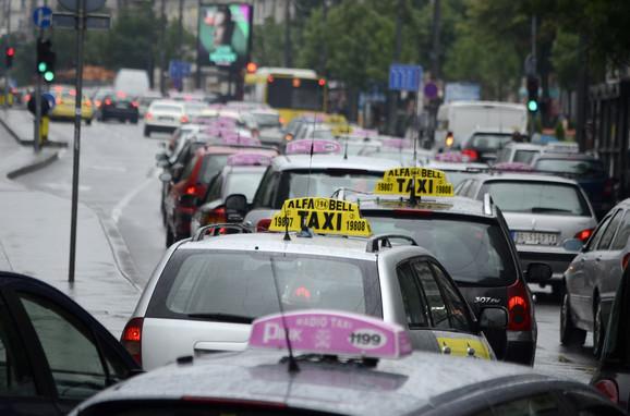 Dobra zarada za taksiste