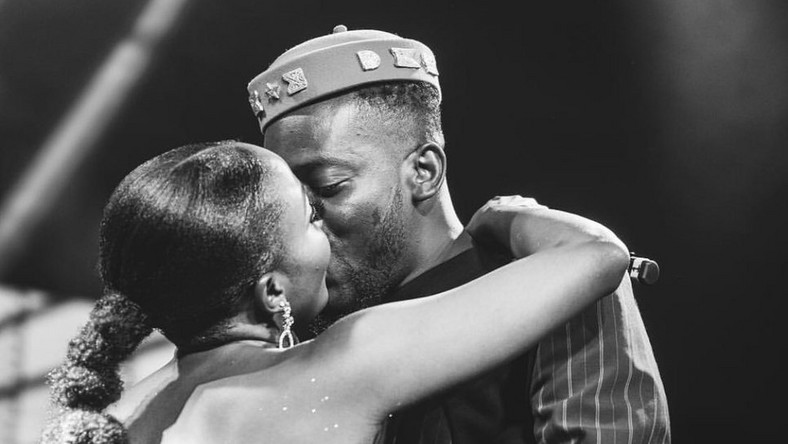 Adekunle Gold and Simi reportedly had their traditional wedding in the company of limited guests.