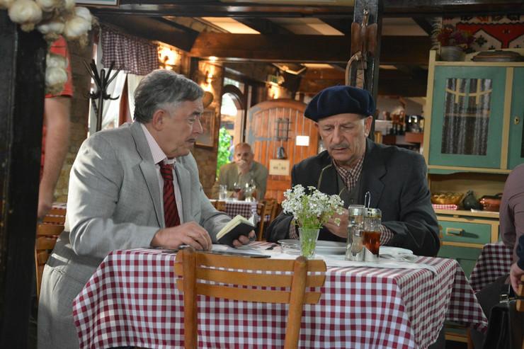 Milutin Mima Karadžić i Branimir Brstina