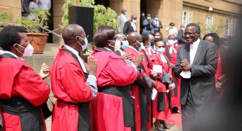 Special court proceedings held as Chief Justice David Maraga retires on January 11, 2021