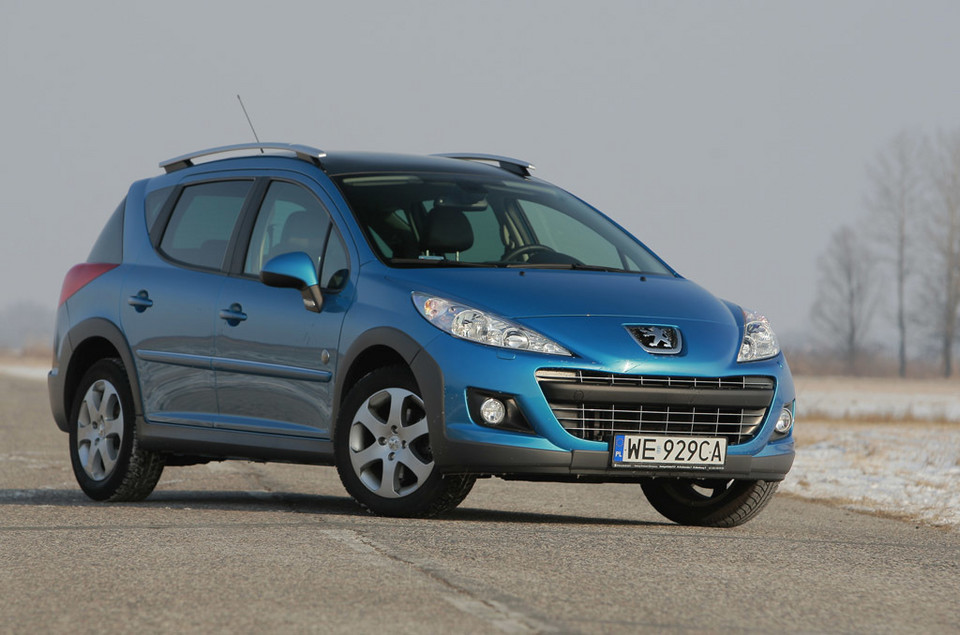 Peugeot 207 SW Outdoor: jego motto to rekreacja