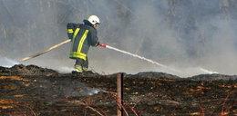 Tragedia pod Wadowicami. 55-latek zapalił się od ogniska