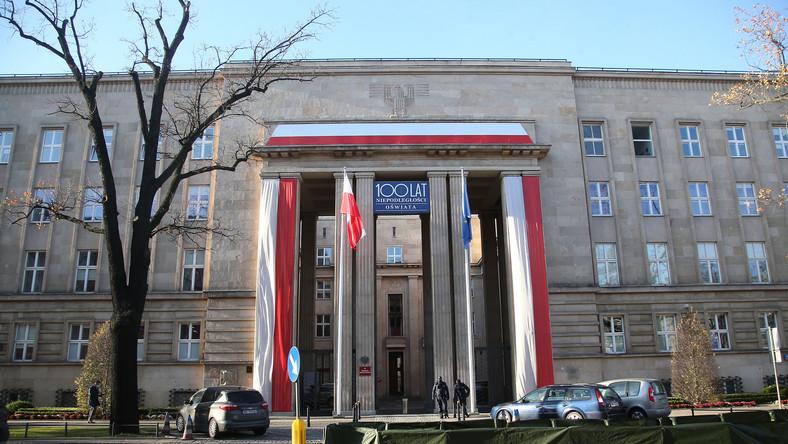 Siedziba Ministerstwa Edukacji i Nauki