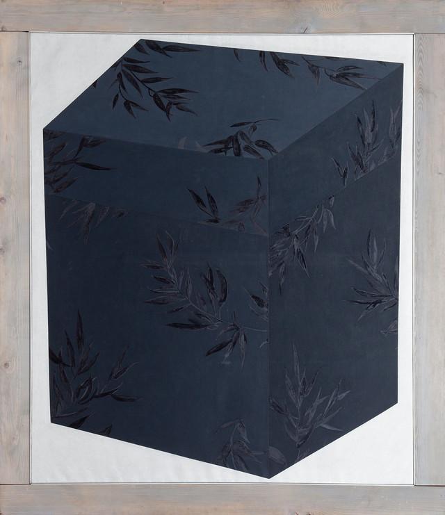Marija Dragojlović, Crna satenska kutija, 1989. godina, iz kolekcije MSUB