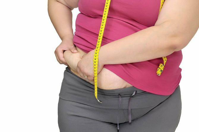 Za insulinsku rezistenciju je karakteristično nagomilavanjem masnog tkiva u predelu stomaka