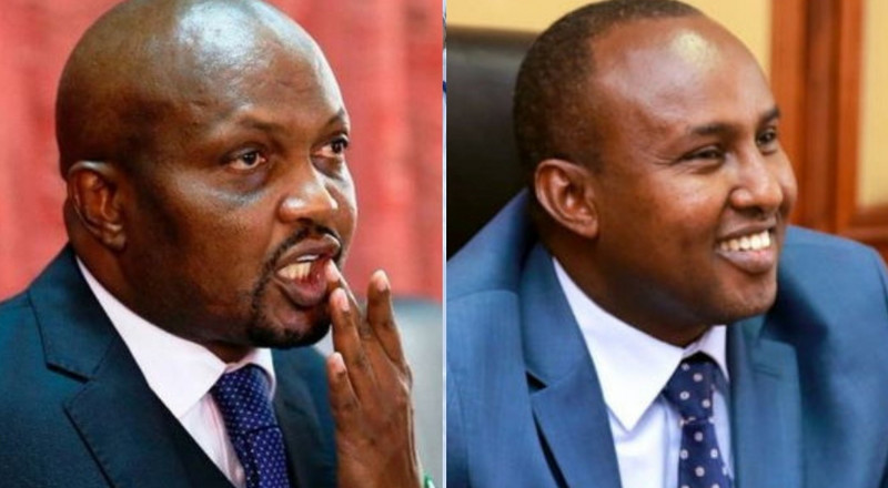 Moses Kuria's interesting message to Junet over Aisha Jumwa ouster